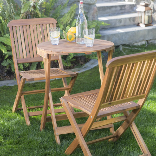 Folding Patio Table Set
