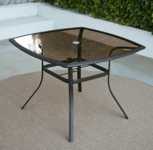 Glass Top Patio Dining Set - Christian's Table