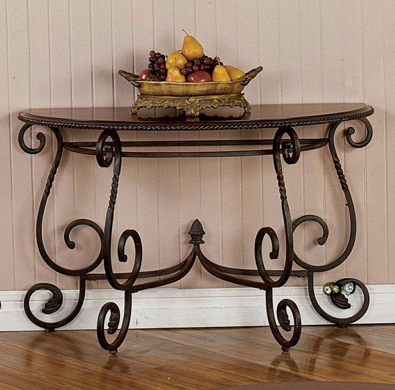 Half Moon Console Table - Christian's Table
