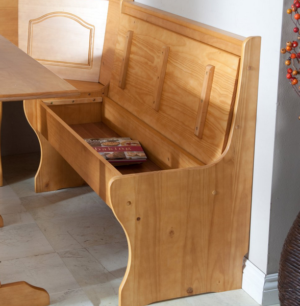 Kitchen Nook Storage Bench