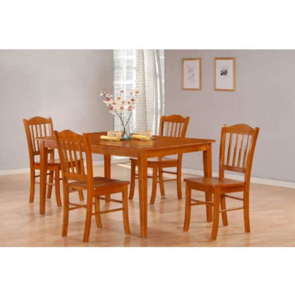 oak dining table set