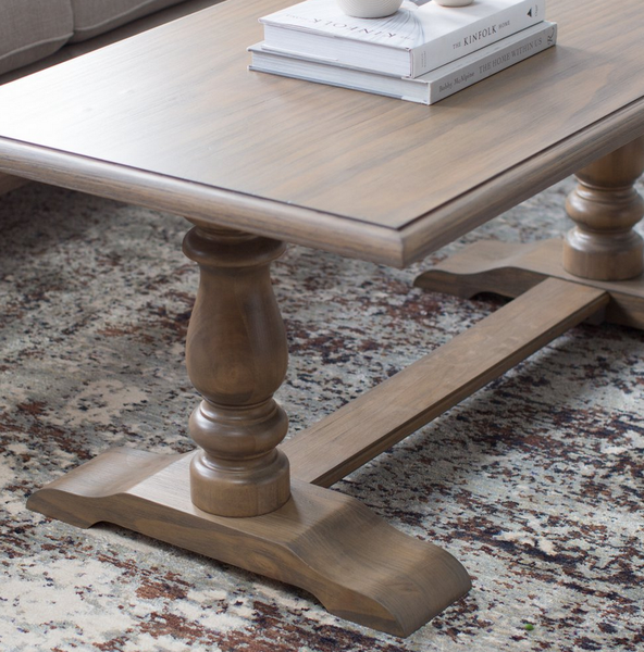 Pedestal Coffee Table Legs