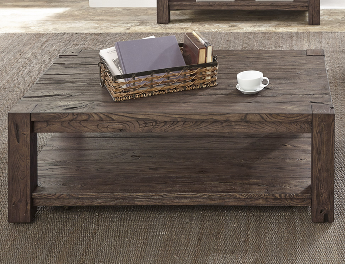 Reclaimed Hardwood Coffee Table - Christian's Table