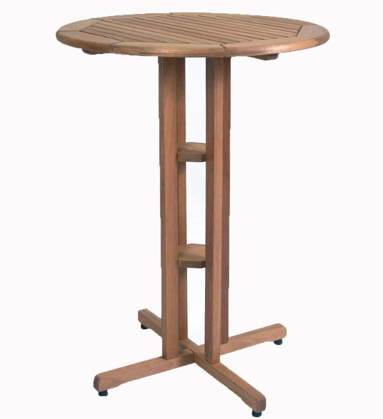 Round Pub Height Patio Set - Christian's Table