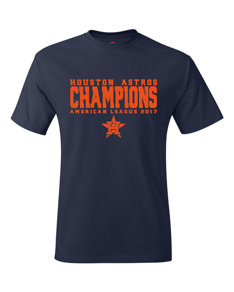 Astros 2017 American League Champions T-Shirt
