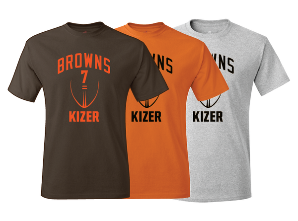 Cleveland Browns DeShone Kizer Training Camp Jersey T-Shirt