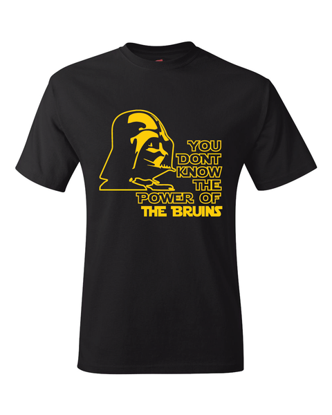 Boston Bruins Darth Vader Star Wars Style T-Shirt