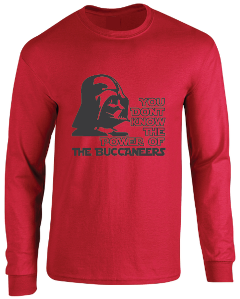Tampa Bay Buccaneers Darth Vader Star Wars Style Long Sleeve T-Shirt