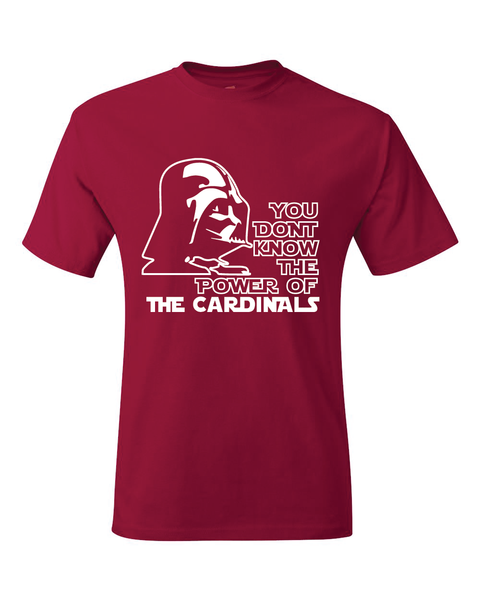Arizona Cardinals Darth Vader Star Wars Style T-Shirt