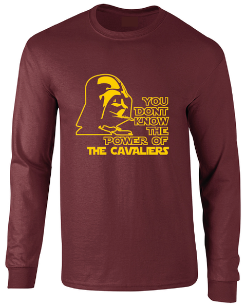 Cleveland Cavaliers Darth Vader Star Wars Style Long Sleeve T-Shirt