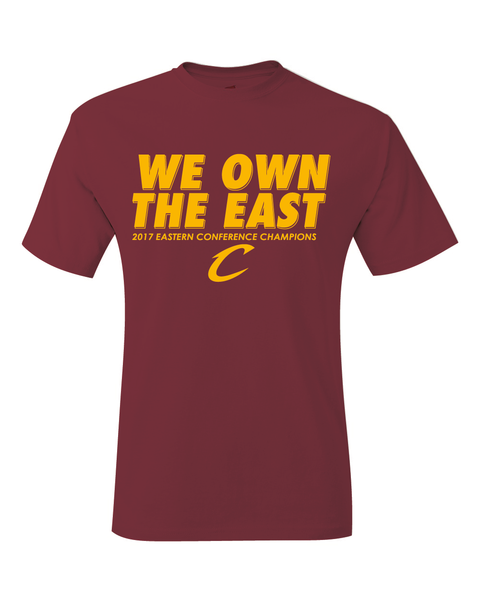 Cleveland Cavaliers 2017 NBA Eastern Conference Champions T-Shirt