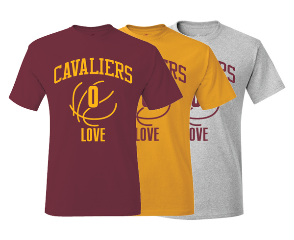 Cleveland Cavaliers Kevin Love Training Camp Jersey T-Shirt