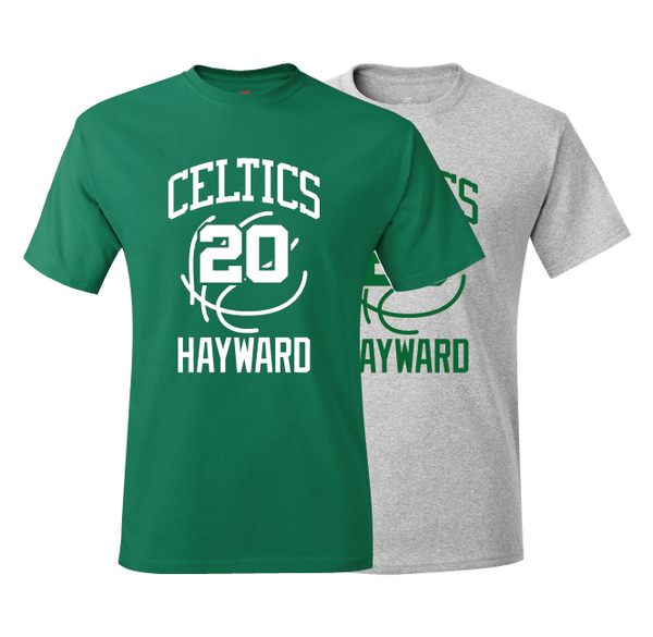 Boston Celtics Gordon Hayward Training Camp Jersey T-Shirt