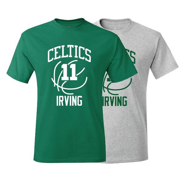 Boston Celtics Kyrie Irving Training Camp Jersey T-Shirt