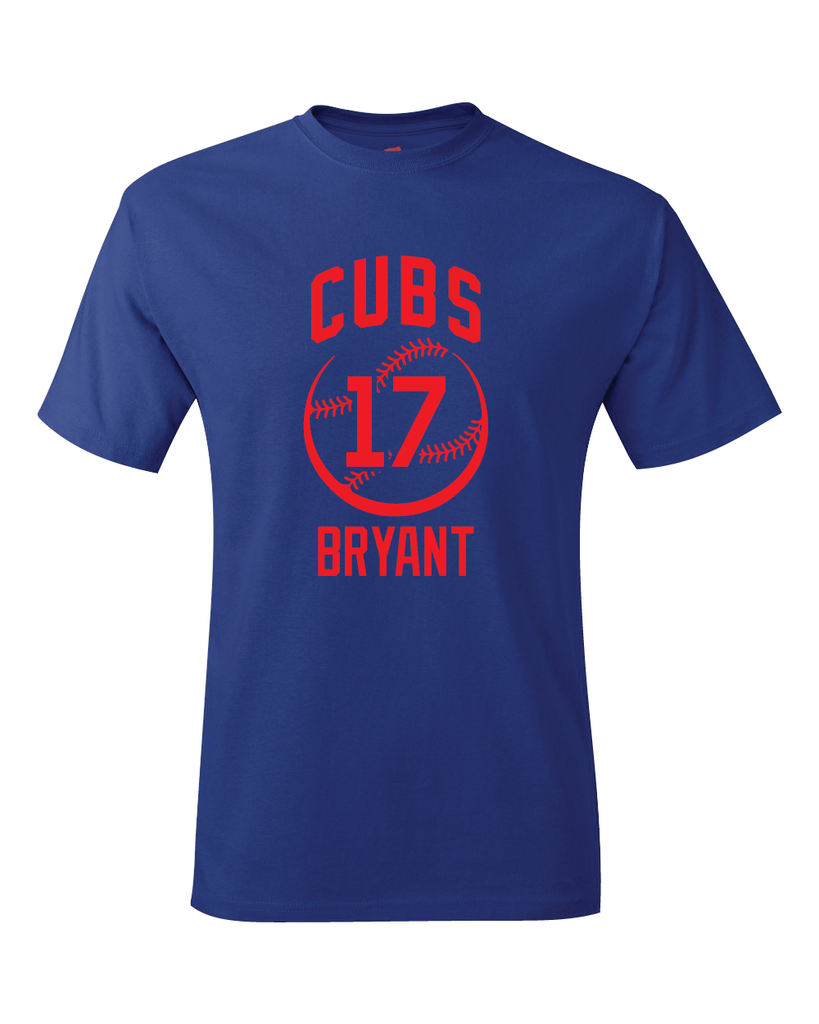 Chicago Cubs Kris Bryant Spring Training Jersey T-Shirt
