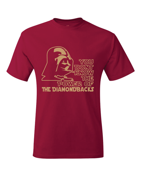 Arizona Diamondbacks Darth Vader Star Wars Style T-Shirt