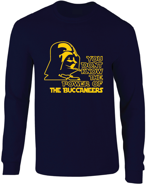 East Tennessee State Buccaneers ETSU Darth Vader Star Wars Style Long Sleeve T-Shirt
