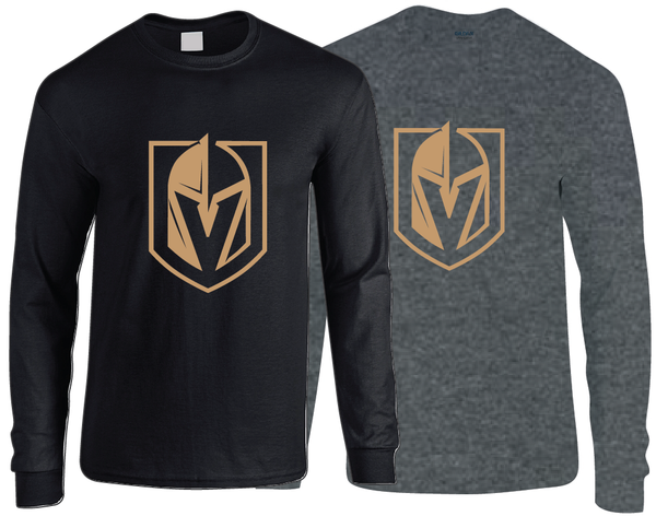 Golden Knights Style Logo Long Sleeve T-Shirt
