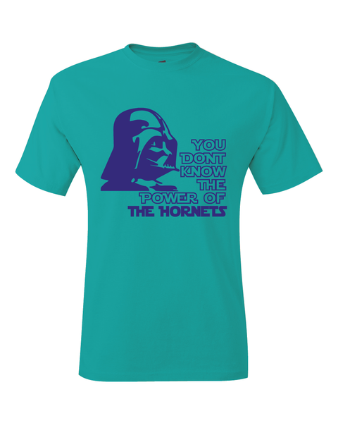 Charlotte Hornets Darth Vader Star Wars Style T-Shirt