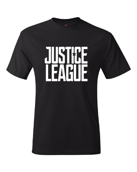 Justice League 2017 Movie Logo Adult Unisex T-Shirt