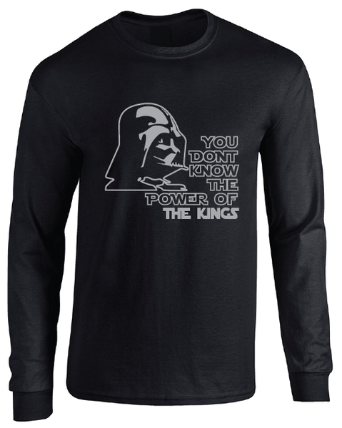 Los Angeles Kings Darth Vader Star Wars Style Long Sleeve T-Shirt
