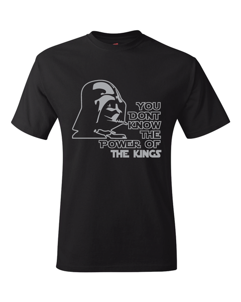 Los Angeles Kings Darth Vader Star Wars Style T-Shirt