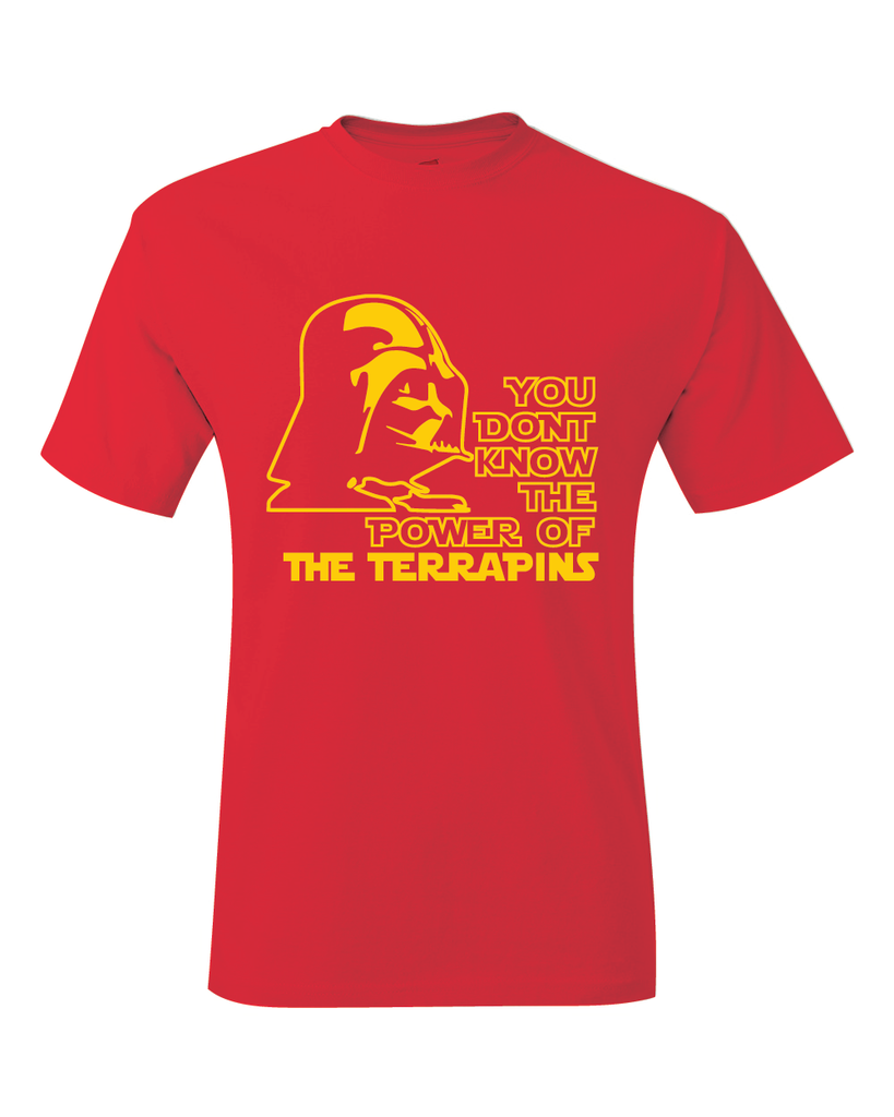 Maryland Terrapins Darth Vader Star Wars Style T-Shirt