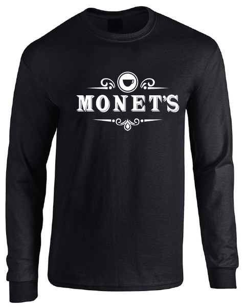 13 Reasons Why Monet's Cafe Black Long Sleeve T-Shirt