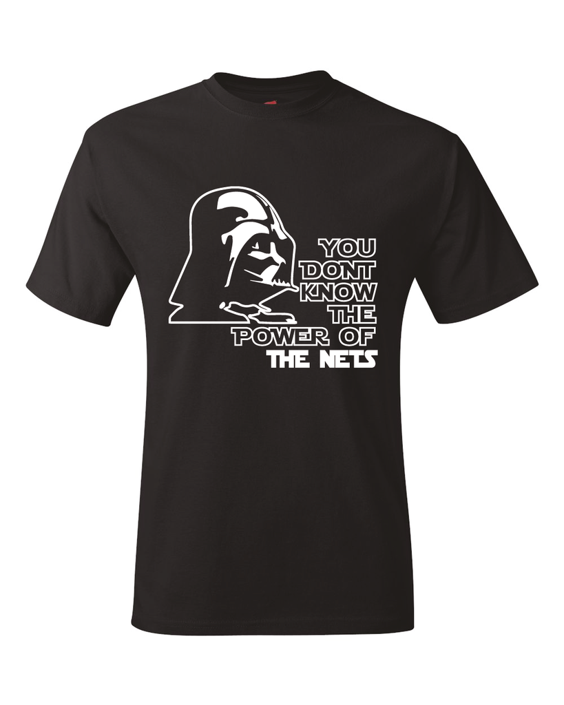 Brooklyn Nets Darth Vader Star Wars Style T-Shirt