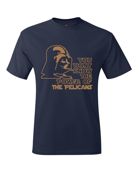 New Orleans Pelicans Darth Vader Star Wars Style T-Shirt