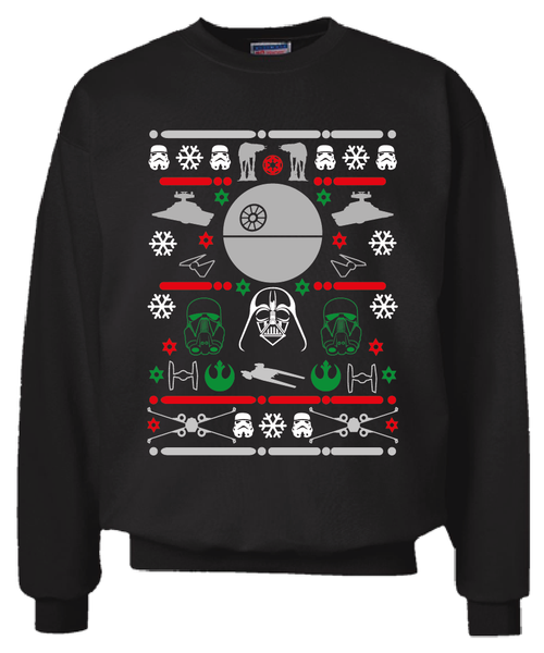 Star Wars Rogue One Christmas Sweater Sweatshirt Ugly Sweater Party