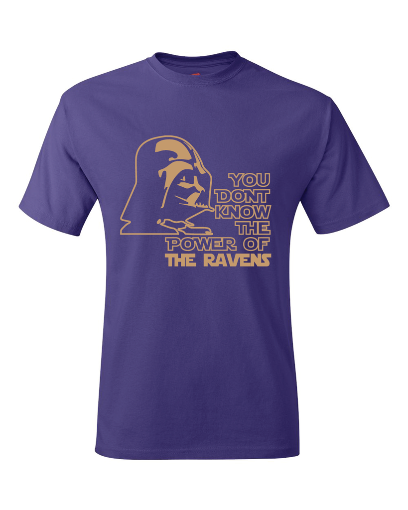 Baltimore Ravens Darth Vader Star Wars Style T-Shirt