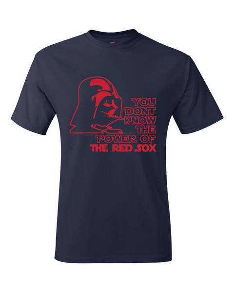 Boston Red Sox Darth Vader Star Wars Style T-Shirt