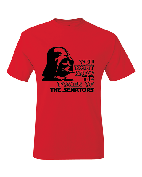 Ottawa Senators Darth Vader Star Wars Style T-Shirt