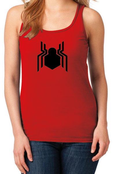 Spiderman Homecoming New Logo Women's Red Tank Top