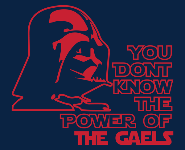 St. Mary's Gaels Darth Vader Star Wars Style T-Shirt