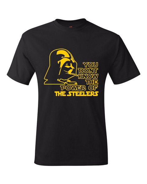 Steelers Darth Vader Star Wars Style T-Shirt