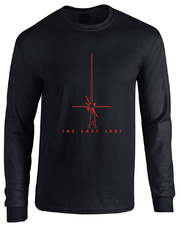 Star Wars Episode VIII The Last Jedi Minimalist Movie Poster Long Sleeve T-Shirt