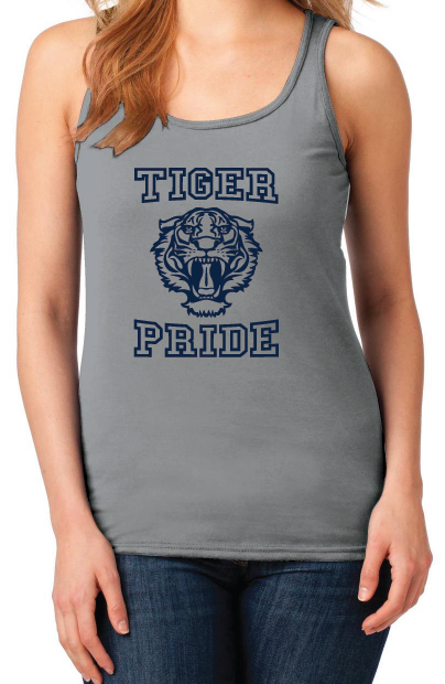 13 Reasons Why Liberty High School Tiger Pride Women's Tank Top