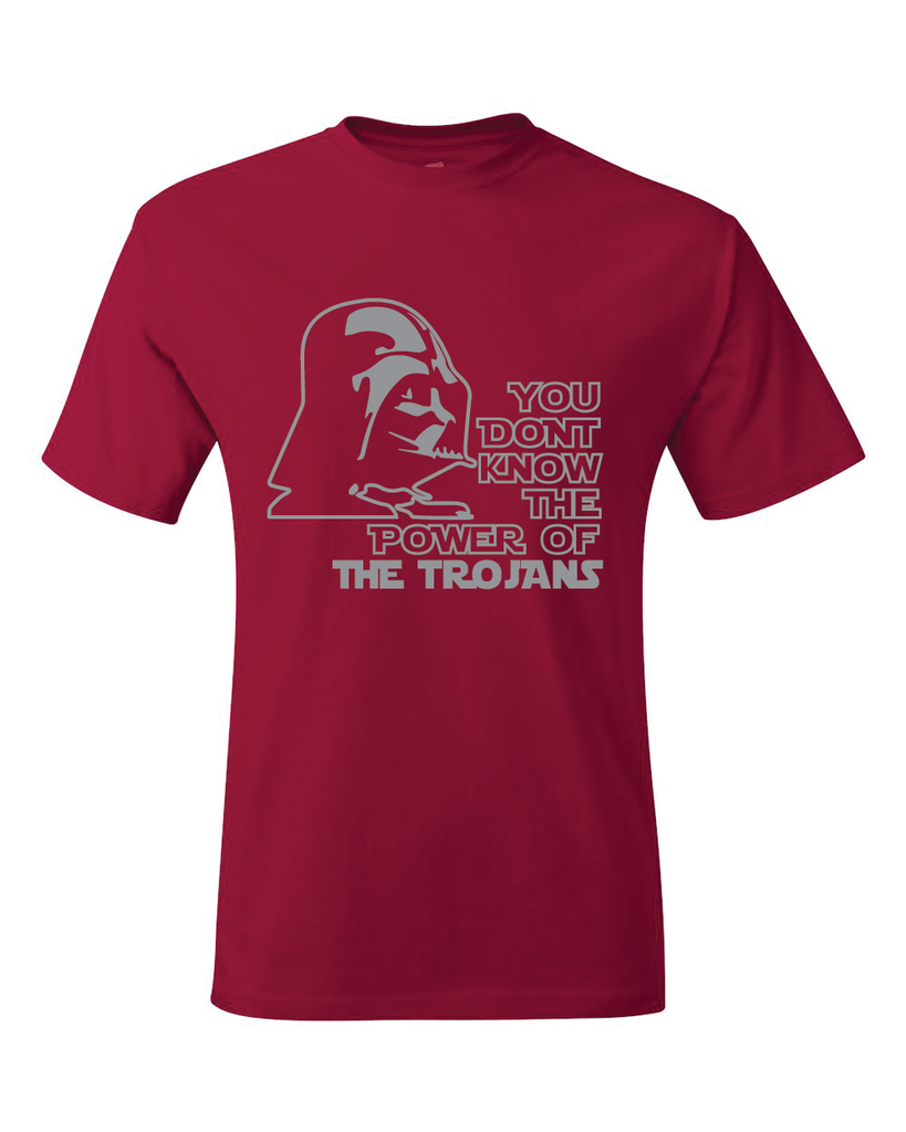 Troy Trojans Darth Vader Star Wars Style T-Shirt