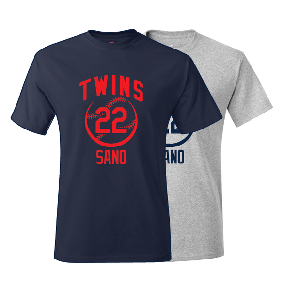 Minnesota Twins Miguel Sano Spring Training Jersey T-Shirt