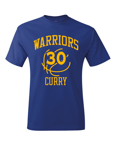 Warriors Steph Curry Training Camp Jersey T-Shirt