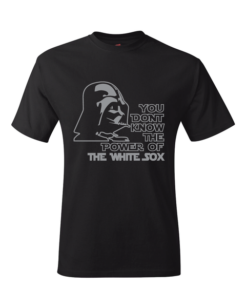 Chicago White Sox Darth Vader Star Wars Style T-Shirt