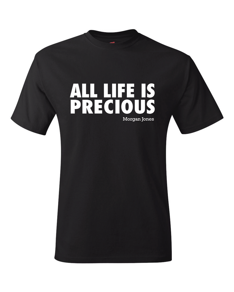 The Walking Dead All Life Is Precious Unisex Black T-Shirt