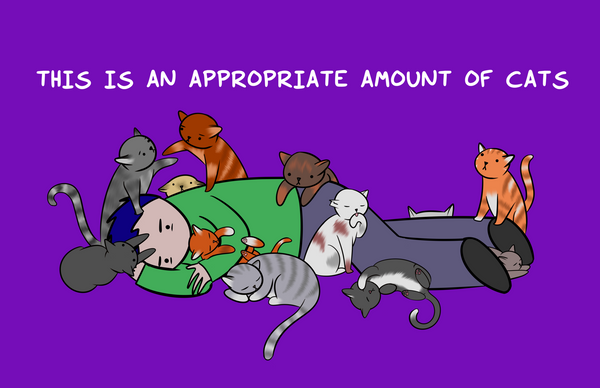 Appropriate Amount of Cats