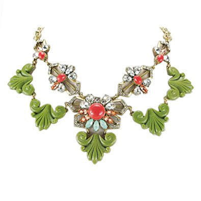 Resin Statement Trendy Necklace