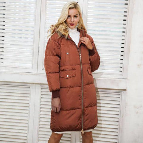 Fashion Warm Parka Winter Jacket Coat