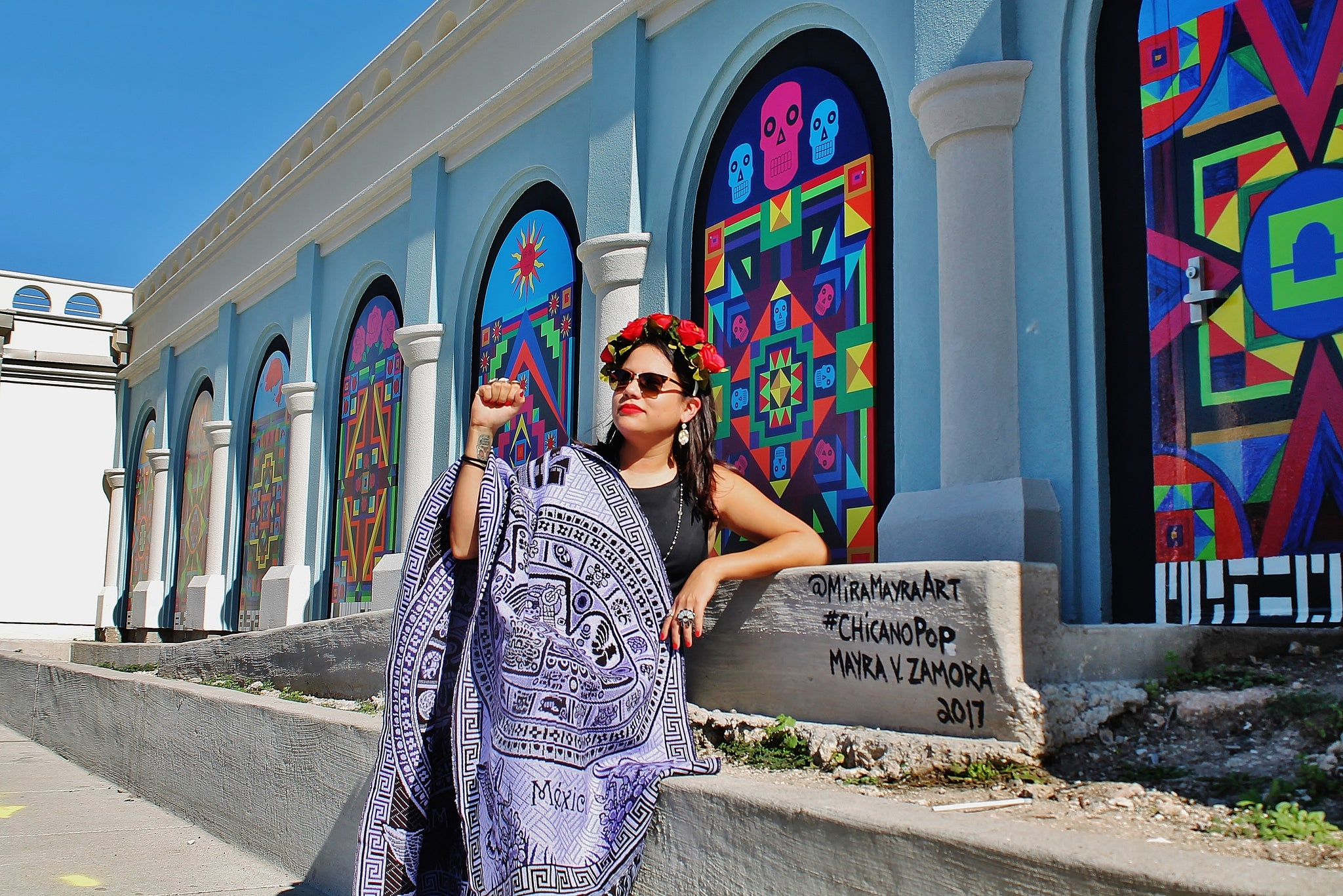 A Chingona with a Colorful Vision