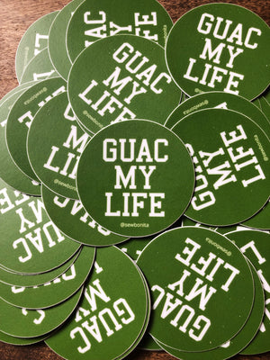 Guac My Life Sticker
