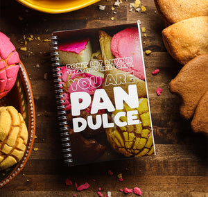 you are pan dulce notebook sew bonita